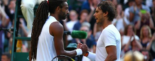 No. 102 player beats Rafael Nadal at Wimbledon
