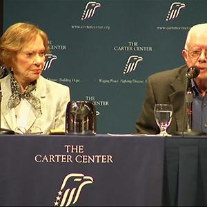 Jimmy Carter Speaks on Islamic State at Forum