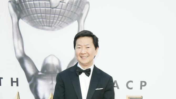Ken Jeong arrives at the 47th NAACP Image Awards in Pasadena