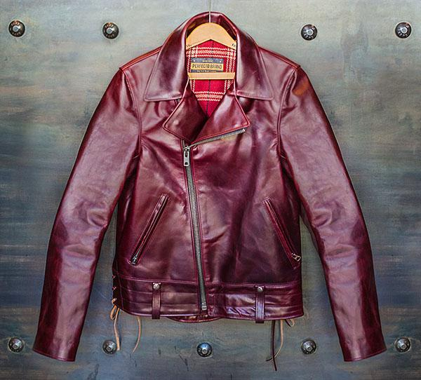 Schott NYC Released a Limited-Edition Horsehide Motorcycle Jacket