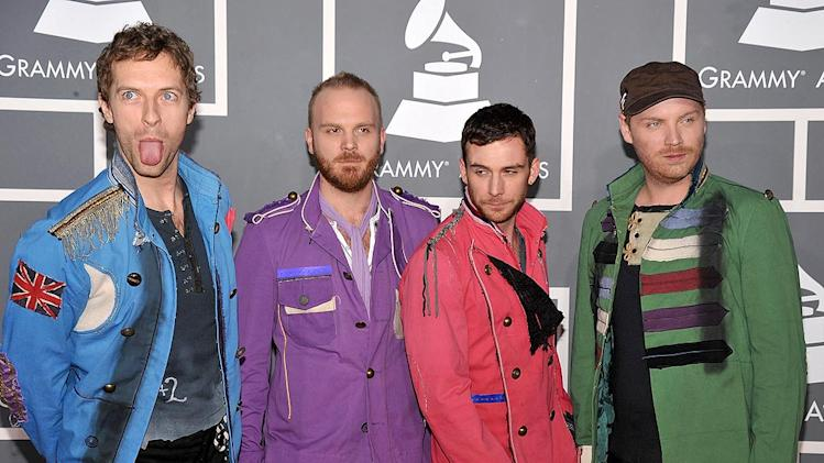 Coldplay Grammy