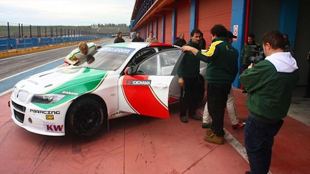 Stefano D'Aste's PB Racing spent one day at the Franciacorta Raceway, Italy, for the shakedown of their BMW 320 TC car in view of the team's first season in the WTCC.