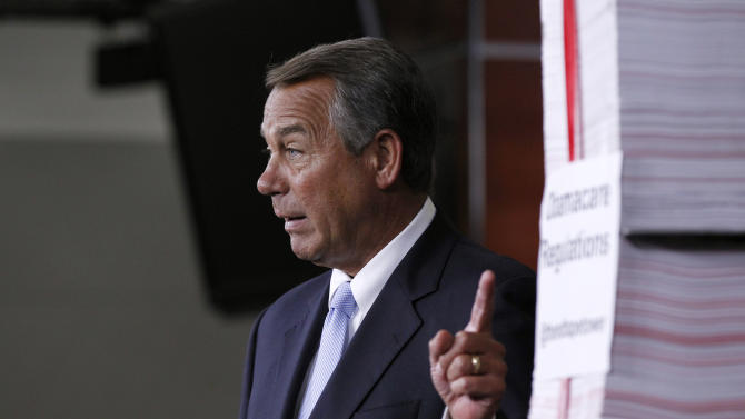 Another round for the House on 'Obamacare'
