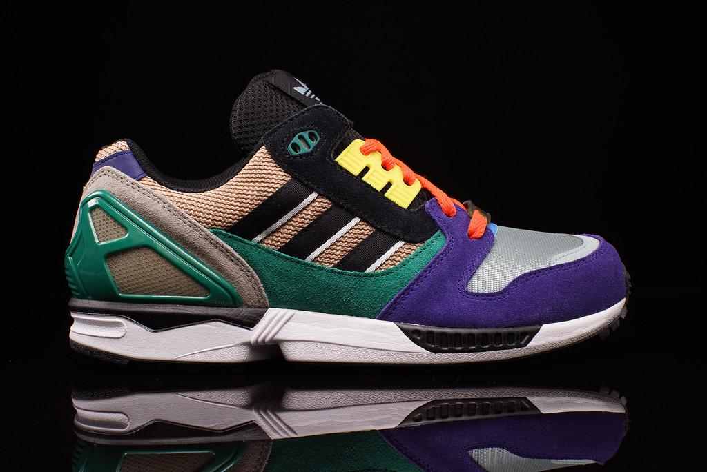 This adidas ZX 8000 Uses 9 Different Colors