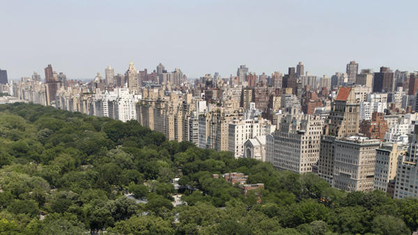$50 million two-bedroom apartment at Central Park Ritz-Carlton view