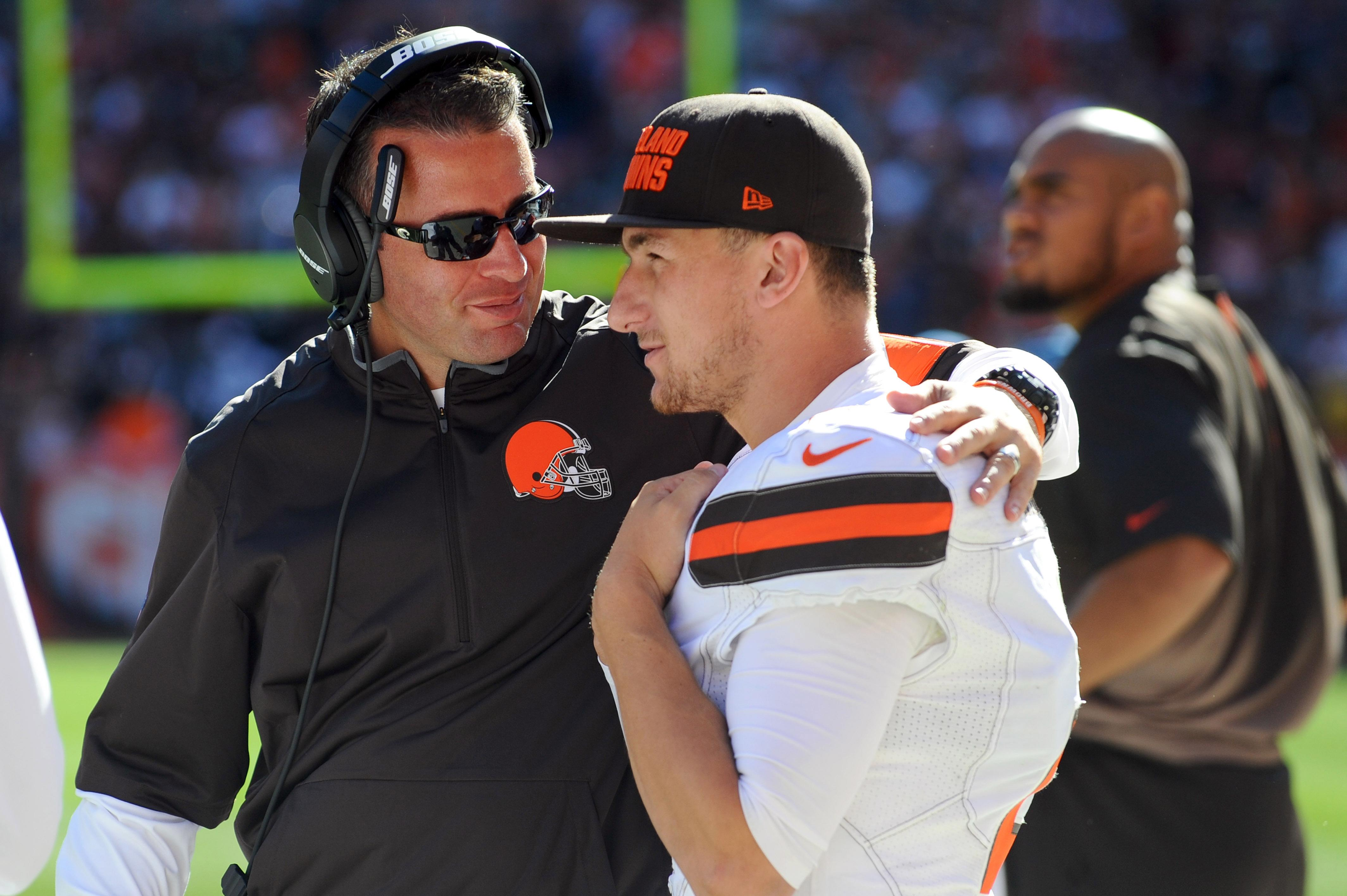 Report: Johnny Manziel showed up drunk to practice and the Browns covered it up by saying he had a concussion