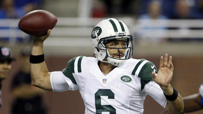 Jets' QB race still unsettled, Lions win 26-17