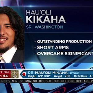 New Orleans Saints pick defensive end Hau'oli Kikaha No. 44 in 2015 NFL Draft