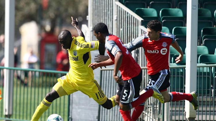 MLS: Preseason-Columbus Crew vs Toronto FC