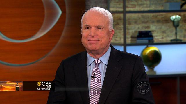 """McCain: """"Deeply disappointed...very sad"""" about terms of UN resolution on Syria weapons"""