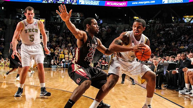 NCAA Basketball: Florida State at Georgia Tech