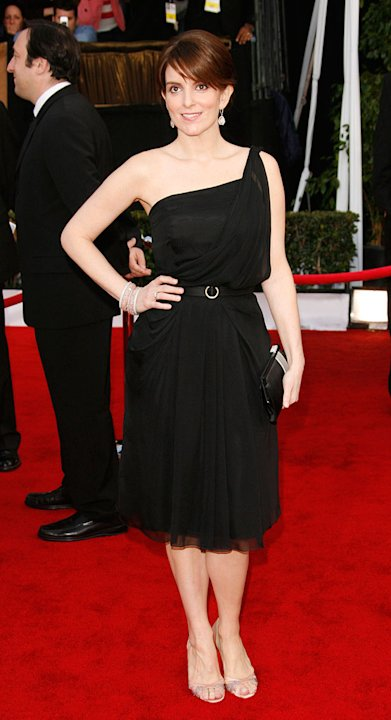 Tina Fey at the 14th Annual Screen Actors Guild Awards. - January 27, 2008