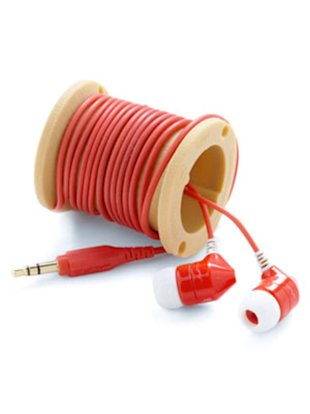 Spooled Earbuds Caddy