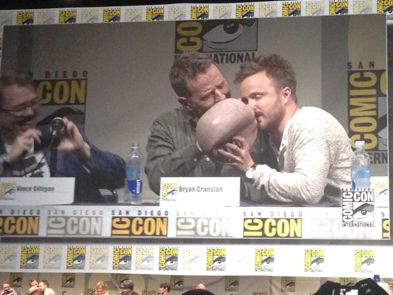 aaron paul breaking bad comic con