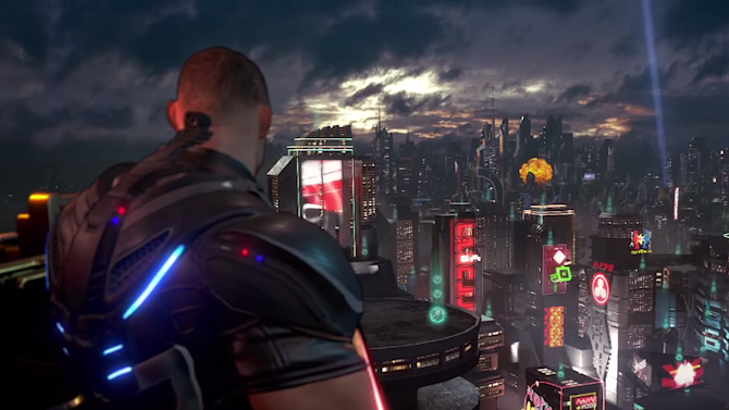 Crackdown 3 trailer promises 100% destructible environments via cloud computing 20x more powerful than Xbox One