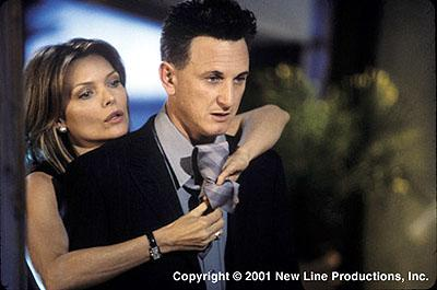 Michelle Pfeiffer and Sean Penn in New Line's I Am Sam