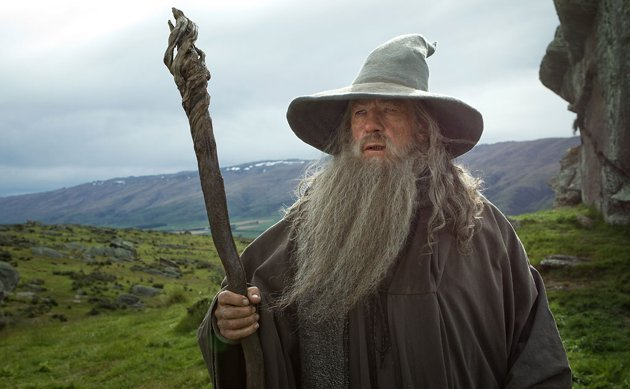 Ian McKellen as Gandalf in 'The Hobbit: An Unexpected Journey'