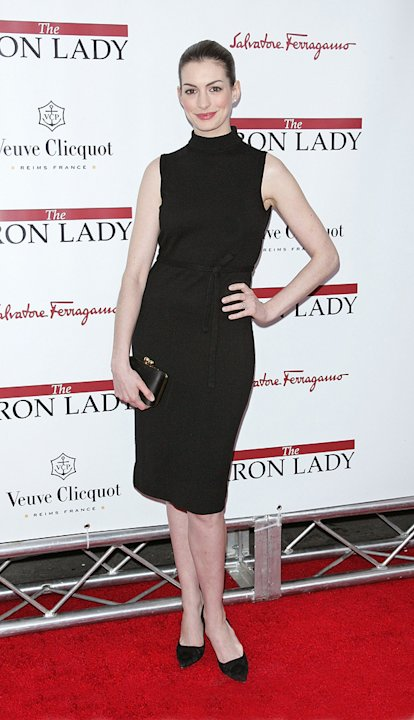 The Iron Lady NY Premiere 2011 Anne Hathaway