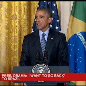 Obama: President Rousseff and I Deepened Ties