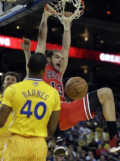 Bulls blitz Warriors in impressive rout, 113-95