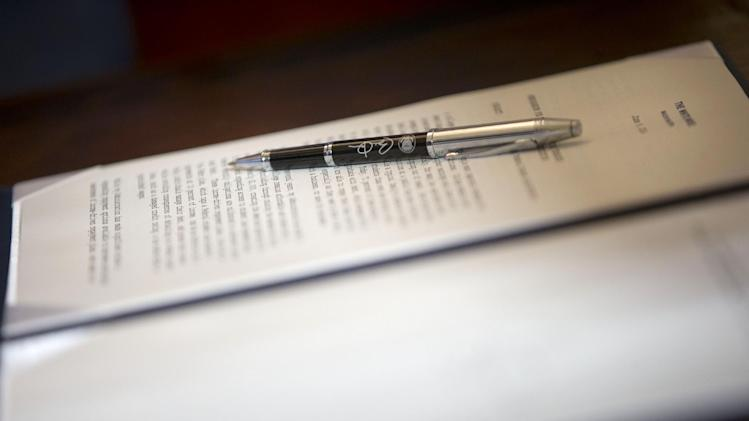 Pens Used by the President