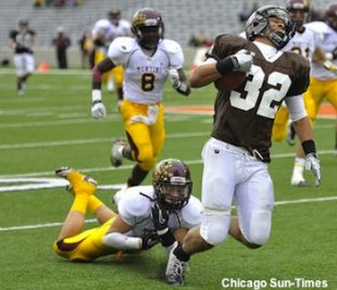 Joliet Catholic running back Ty Isaac