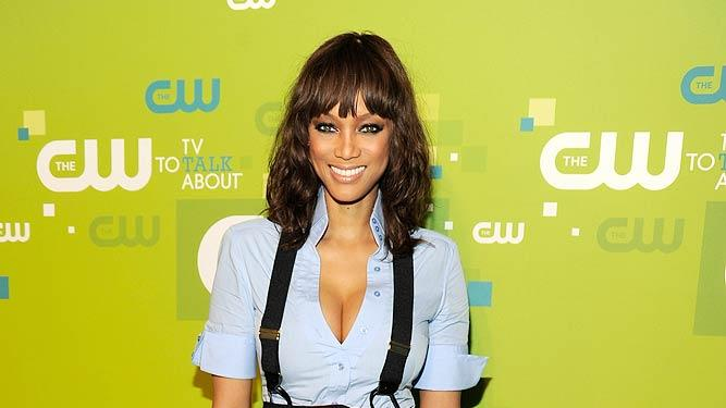 Tyra Banks CW Upfronts