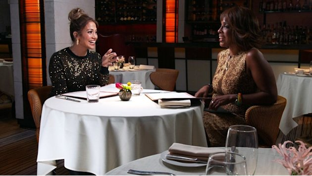 Jennifer Lopez talks to Gayle …