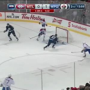 Mark Scheifele Goal on Dustin Tokarski (06:05/2nd)