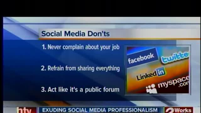 Social media and your job -- Dos and Don'ts