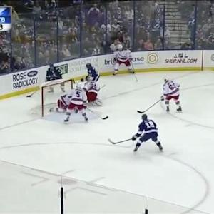 Henrik Lundqvist Save on Tyler Johnson (13:40/2nd)