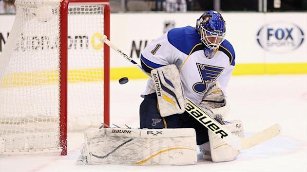 Brian Elliott of the St. Louis Blues (AFP)