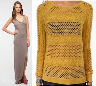 Match a Maxi Dress With a Sweater