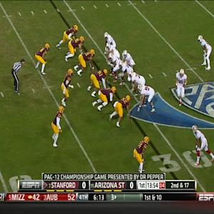 12/07/2013 Stanford vs Arizona State Football Highlights