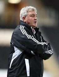 Steve Bruce, pictured, wants new players to replace injured duo Joe Dudgeon and Matty Fryatt