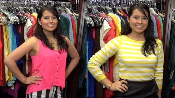 Shopaholics on Call: toda de rayas