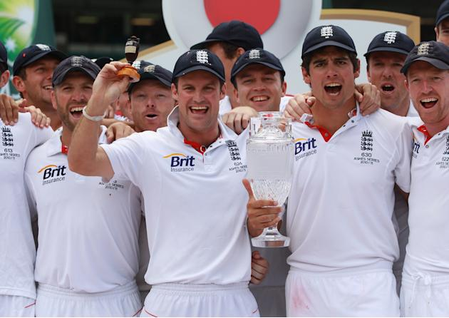Fifth Test - Australia v England: Day Five
