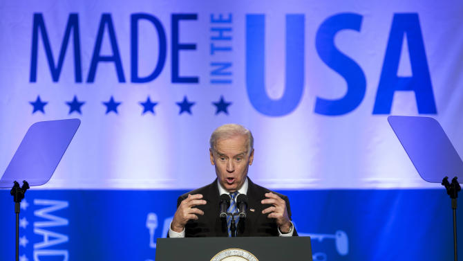 Biden: US needs ambitious agenda on exports