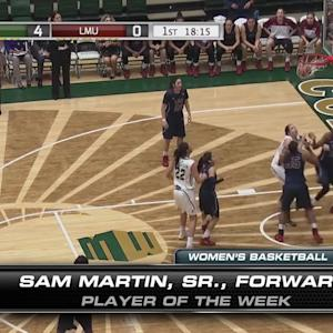 Mountain West Women's Basketball Player of the Week