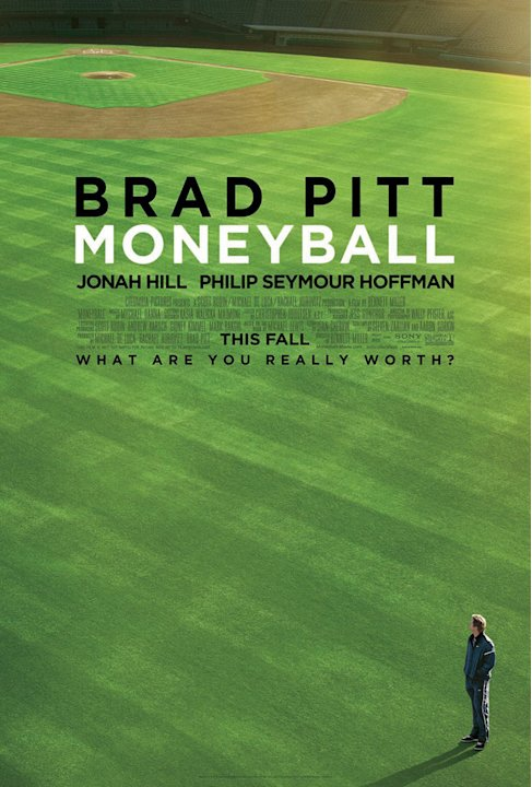 Moneyball Columbia Pictures 2011 Poster