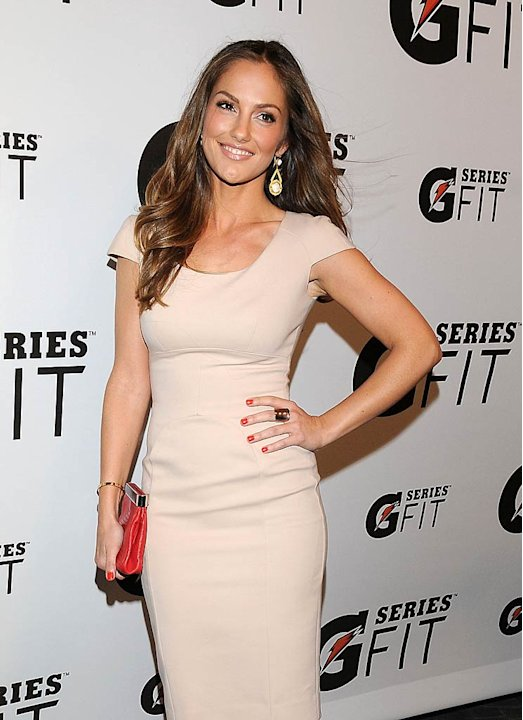 Minka Kelly Gatorade Lnch Prty
