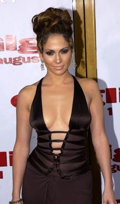 Jennifer Lopez at the LA premiere of Gigli