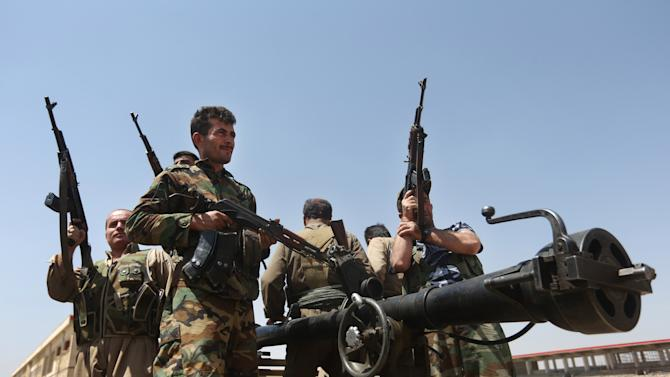 IS seizes Syrian villages