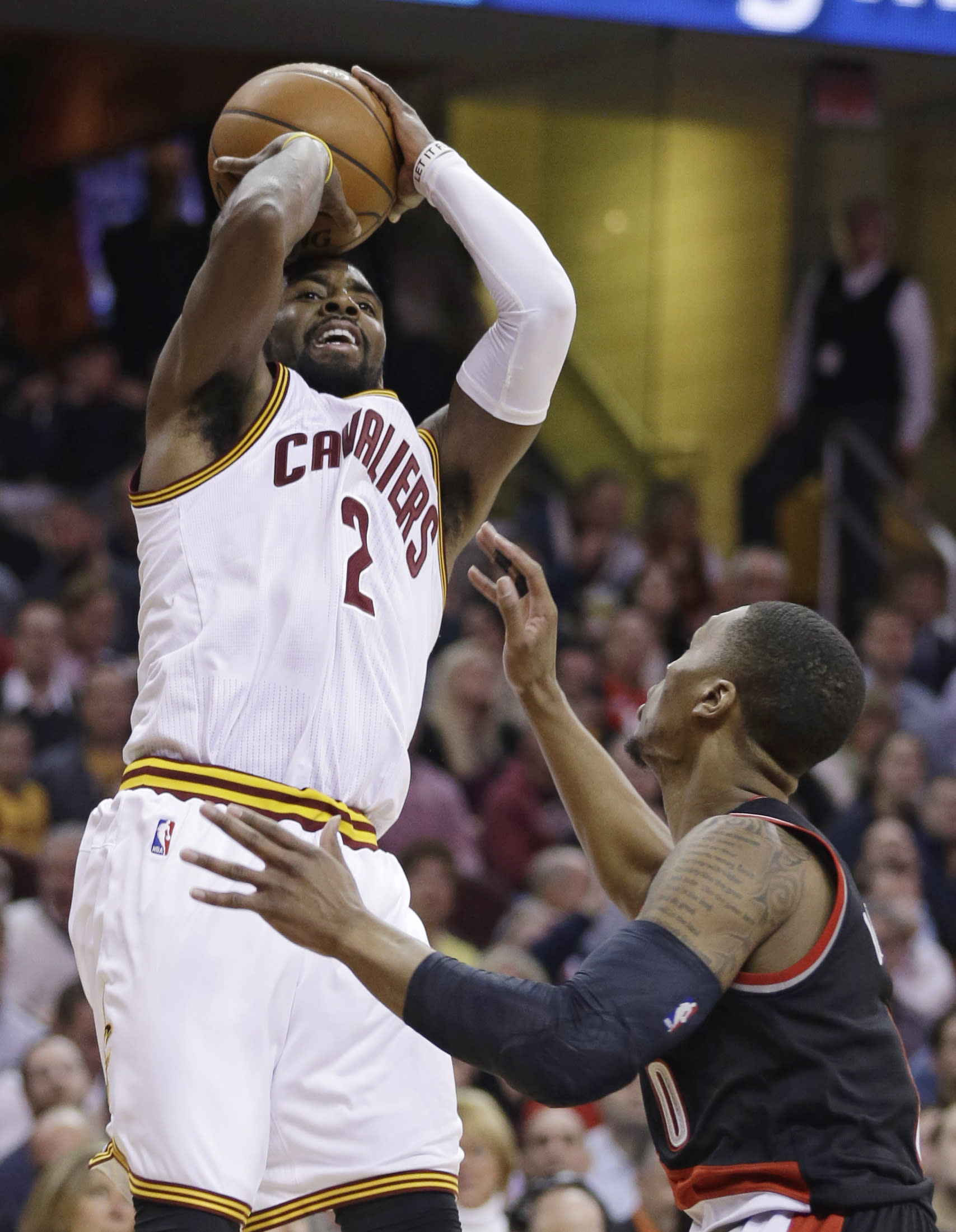 Irving scores 55 as Cavs win 8th in a row minus LeBron