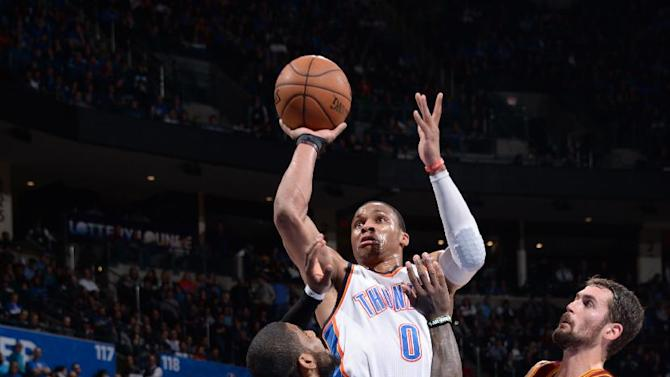 Westbrook leads Thunder past Cavaliers