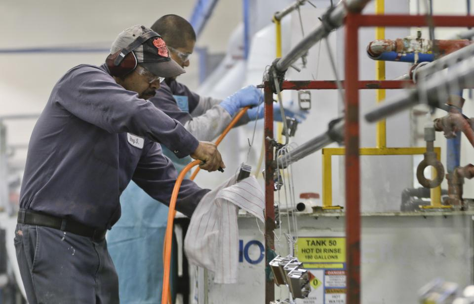 Ahead of the Bell: US Manufacturing