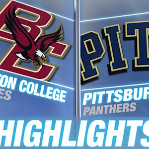 Boston College vs Pittsburgh | 2014-15 ACC Men's Basketball Highlights