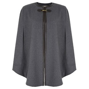 Wool Blend Cape Banana Republic