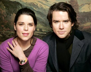 Neve Campbell and Christian Campbell Reefer Madness Portraits - 1/27/2005 Sundance Film Festival