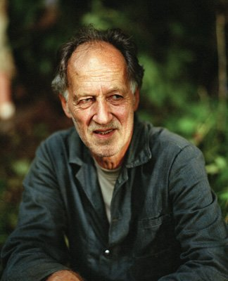 Director Werner Herzog on the set of MGM's Rescue Dawn